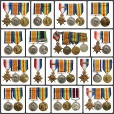 Lots of WW1 medals added to the site!