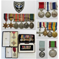 A few more medals added to the site...