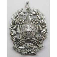 Leeds City Police Helmet Plate ( Chrome )