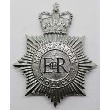 Metropolitan Police Helmet Plate - Queens Crown