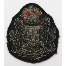 Aberdeen City Police Bullion Cap Badge - King's Crown