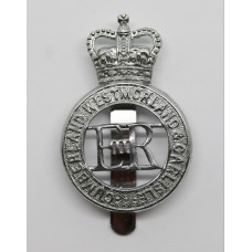 Cumberland Westmoreland & Carlisle Constabulary Cap Badge - Q