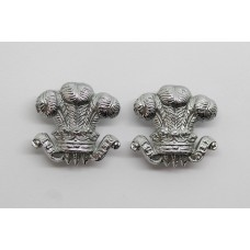 Pair of South Wales Constabulary Collar Badges