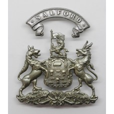 Salford City Police Helmet Plate (Coat of Arms)