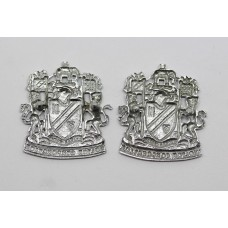 Pair of Bolton Borough Police (Bolton Corporation) Collar Badges
