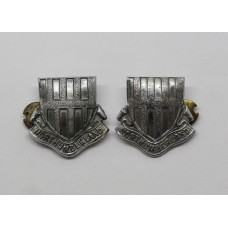 Pair of Northumberland Constabulary Collar Badges