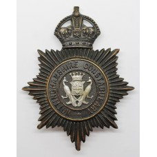 Nottinghamshire Constabulary Night Helmet Plate - King's Crown (P