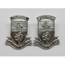 Pair of Devon Special Constabulary Collar Badges