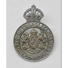 Metropolitan Special Constabulary Cap Badge - King's Crown