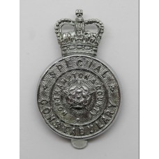 Northampton & County Special Constabulary Cap Badge - Queen's