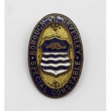 Borough of Beverley Special Constable Enamelled Lapel Badge