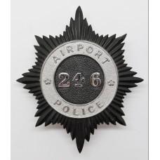 Airport Police Helmet Plate (246)