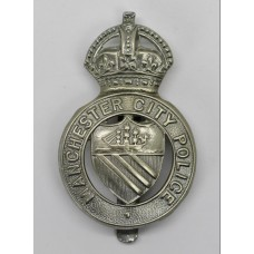 Manchester City Police Cap Badge - King's Crown
