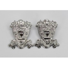 Pair of Renfrew & Bute Constabulary Collar Badges