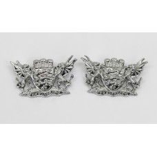 Pair of Dorset Constabulary Collar Badges