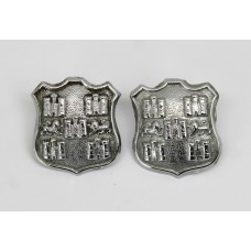 Pair of Winchester City Police Collar Badges