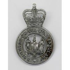 Southend-on-Sea Constabulary Cap Badge - Queen's Crown
