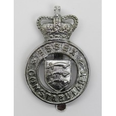 Essex Constabulary Cap Badge - Queen's Crown