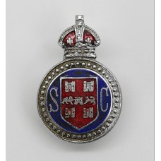 Winchester City Police Special Constabulary Enamelled Lapel Badge - King's Crown
