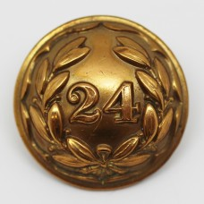 Victorian 24th (2nd Warwickshire) Regiment of Foot Officer's Button (Large)