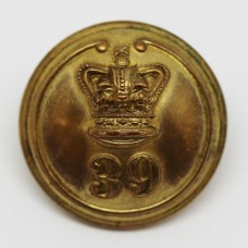 Victorian 39th (Dorsetshire) Regiment of Foot Officer's Button (Large)