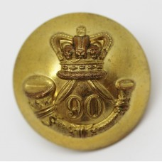 Victorian 90th (Perthshire LIght Infantry) Regiment of Foot Officer's Button (Large)