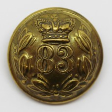 Victorian 83rd (County of Dublin) Regiment of Foot Button (Large)