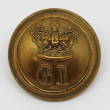 Victorian 61st (South Gloucestershire) Regiment of Foot Officer's Button (Large)