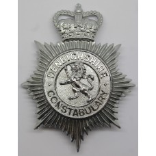 Denbighshire Constabulary Helmet Plate - Queen's Crown