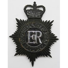 Hampshire & Isle of Wight Police Night Helmet Plate  - Queen'