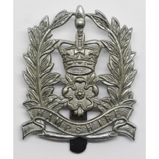 Hampshire Constabulary Constables Cap Badge - Queens Crown