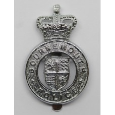 Bournemouth Police Cap Badge - Queen' Crown