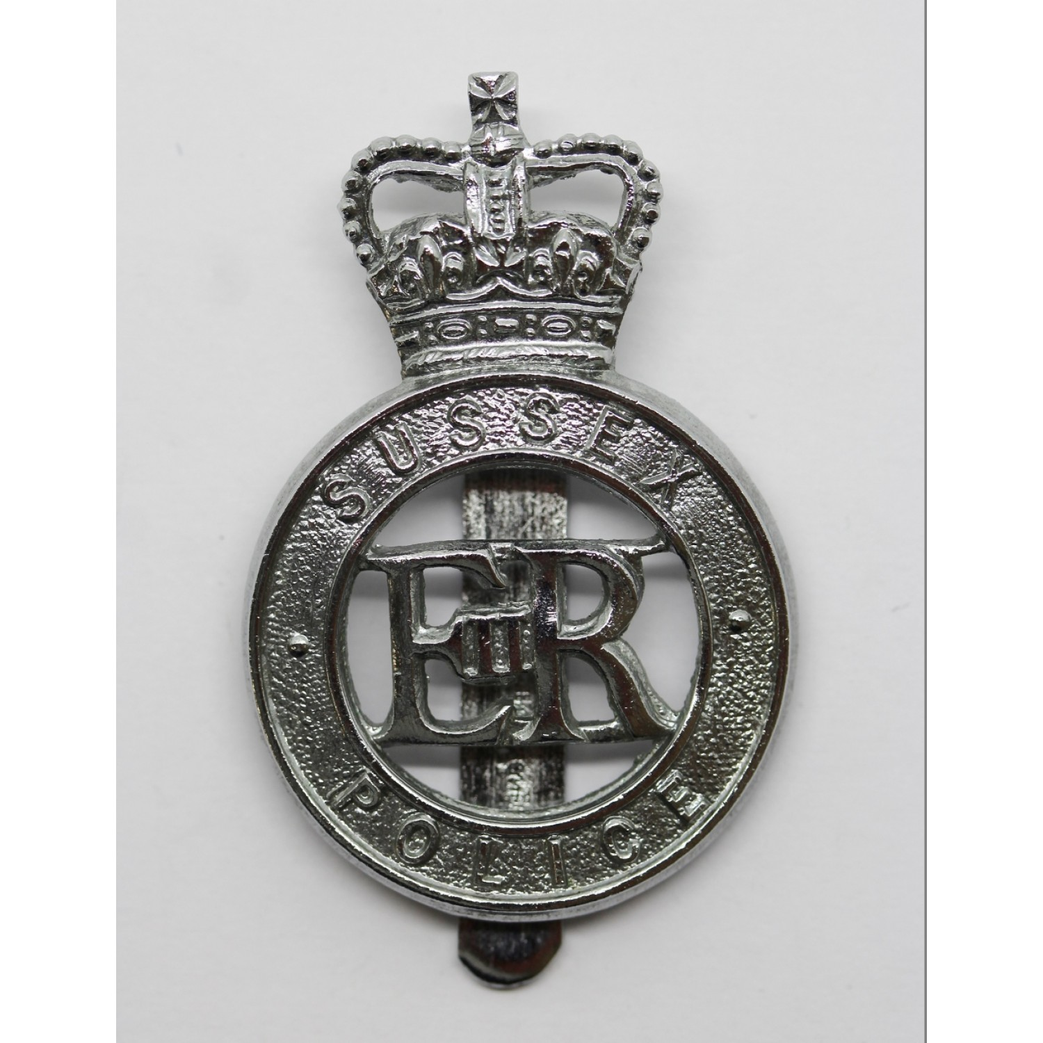 blue badge pendant police jewelry thin insignia patriotic and line