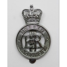 Sussex Police Cap Badge - Queen's Crown