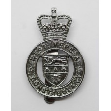 West Mercia Constabulary Cap Badge - Queen's Crown