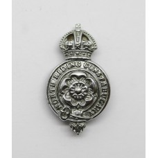 North Riding Constabulary Collar Badge - King's Crown