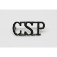 Central Scotland Police (C.S.P.) Shoulder Title