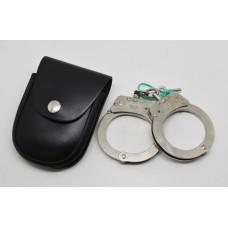 Hiatts Police Handcuffs in Pouch