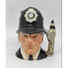 Royal Doulton The London Bobby Policeman Character Jug