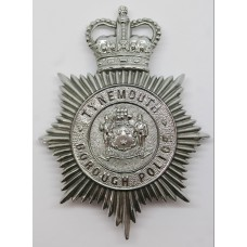 Tynemouth Borough Police Helmet Plate - Queen's Crown