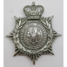 Southend-On-Sea Constabulary Helmet Plate - Queen's Crown