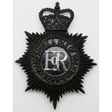 Hampshire & Isle of Wight Police Night Helmet Plate - Queen's