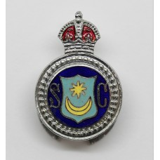 Portsmouth City Police Special Constable Enamelled Lapel Badge - King's Crown