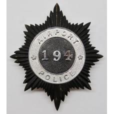 Airport Police Helmet Plate (194)