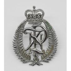 New Zealand Police Cap Badge - Queen's Crown