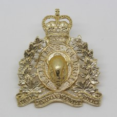 Royal Canadian Mounted Police Anodised (Staybrite) Cap Badge