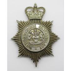 Nottinghamshire Constabulary Helmet Plate - Queen's Crown