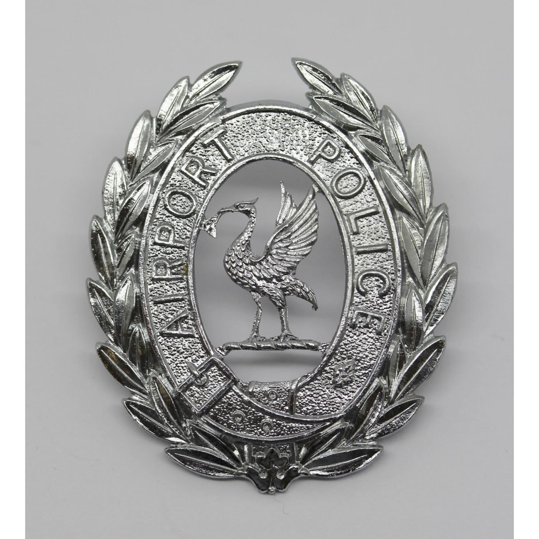 Liverpool Airport Police Cap Badge