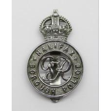 George VI Halifax Borough Police Cap Badge