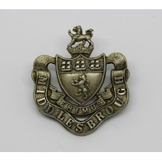 Middlesborough Borough Police Kepi Badge